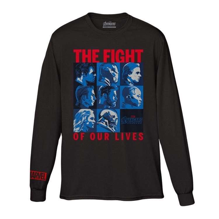 83ad6ffc1 AVENGERS: ENDGAME | Limited Edition Charity Tee Night Organic Unisex Long  Sleeve Tee front