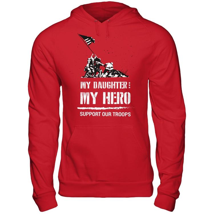 My Daughter My Hero Red Friday Edition Represent