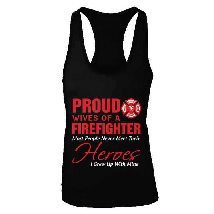 Firefighter Christmas Shirt.Proud Wives Of A Firefighter