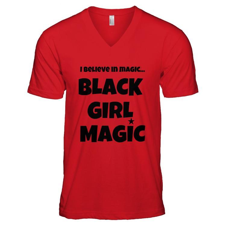 a6699576e BELIEVE in MAGIC! Black Girl Magic VNeck   Represent