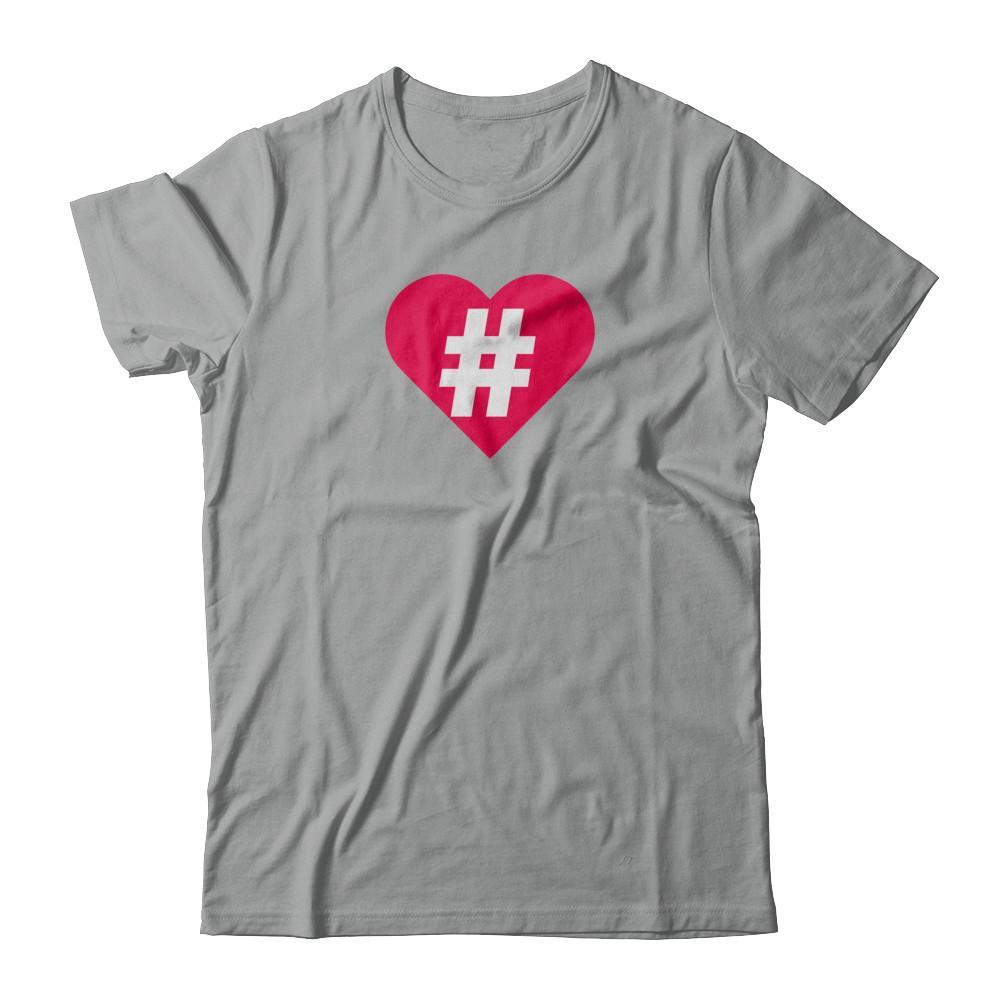 Hashtag #Love Tshirt