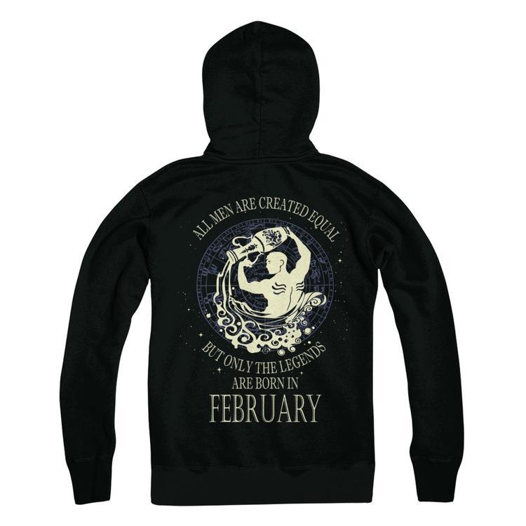 AQUARIUS - Legends are born in February