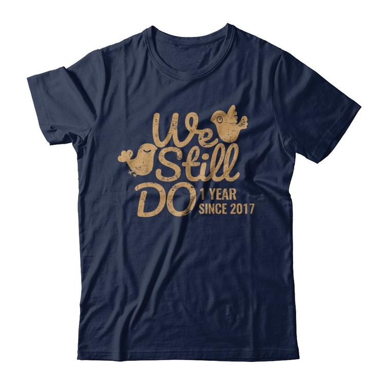 a25d69994c Paper Wedding Anniversary Gift Tee One Year Navy Gildan Short Sleeve Tee