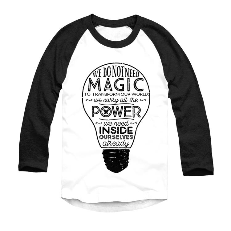 Official Lumos Be The Light T Shirt