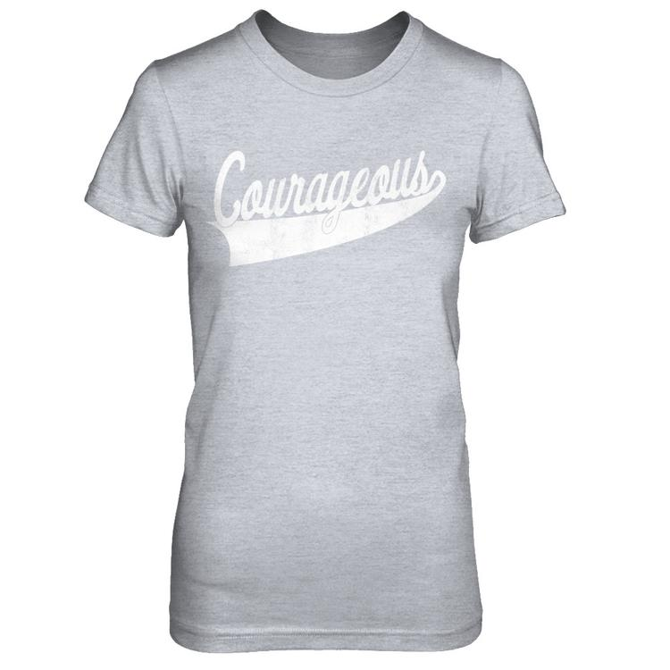 0ff823f8a2 Courageous: Adult tees and tanks Heather Gray Next Level Female