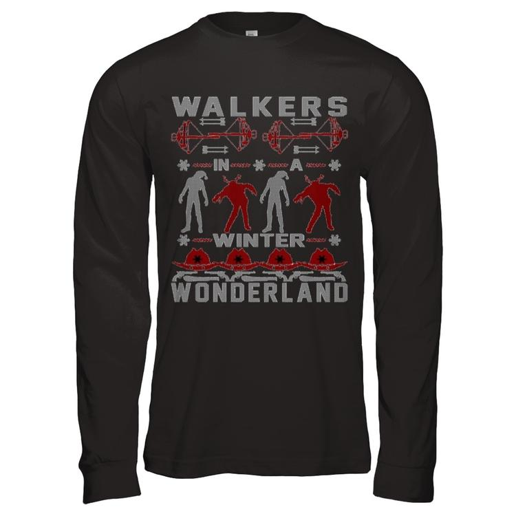 Walking Dead Ugly Christmas Sweater Represent