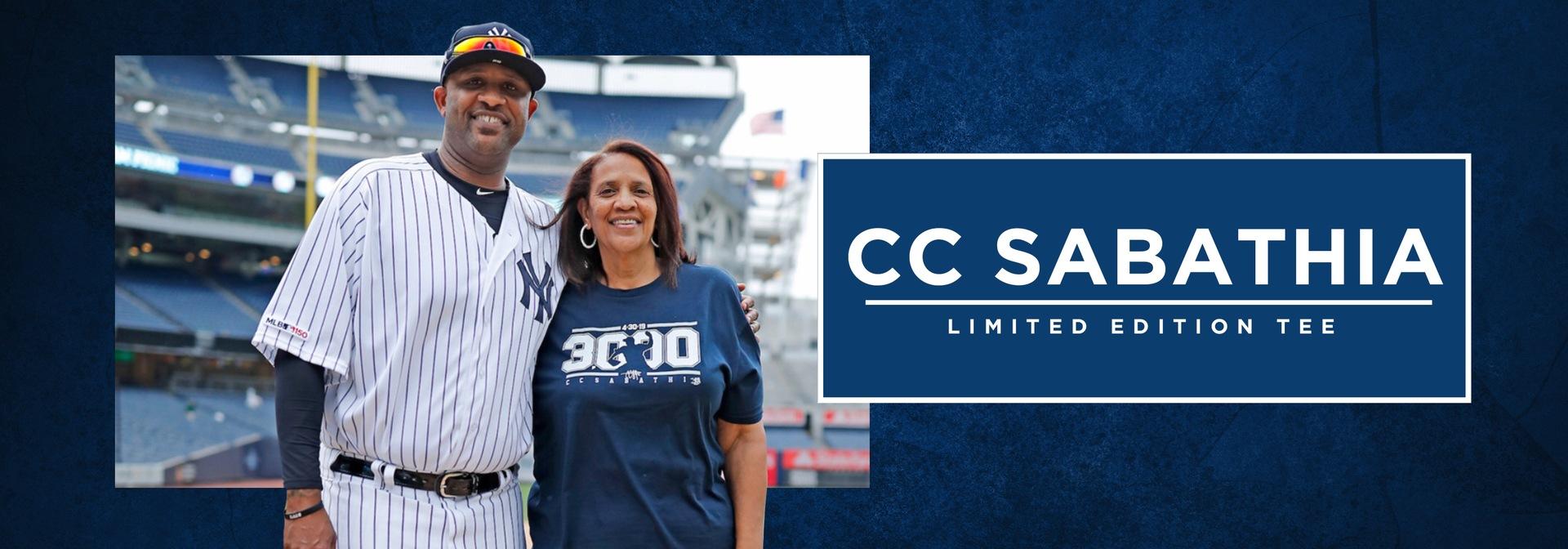 CC Sabathia | Limited Edition Apparel  Store