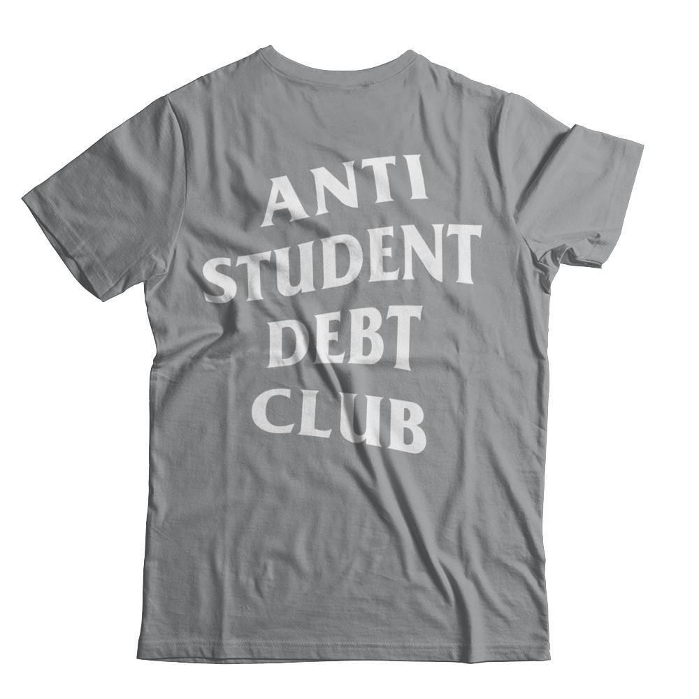 Sweatshirt Red STFND Student Debt