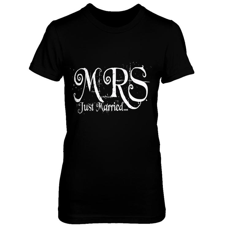 541891ad21c03 Wedding T-Shirt MRS.