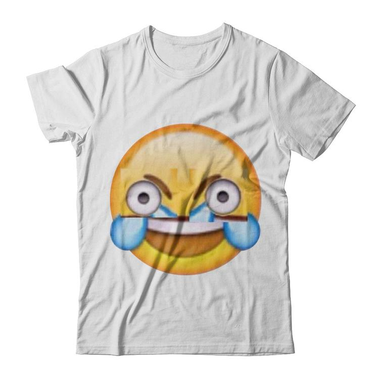 open eye crying laughing emoji shirt haxxgaffs