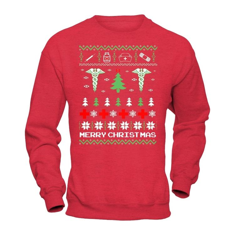 ugly christmas sweater for nurses