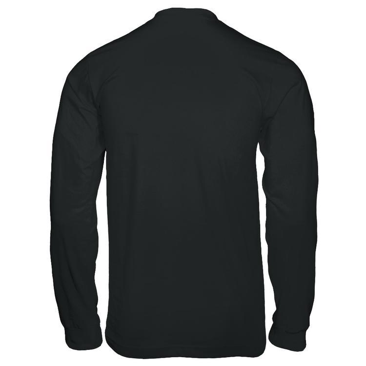 PewDiePie Official Apparel Black Gildan Long Sleeve Tee back f65e464d552
