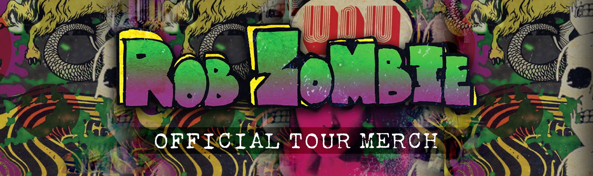 Official Rob Zombie Tour Merchandise Store