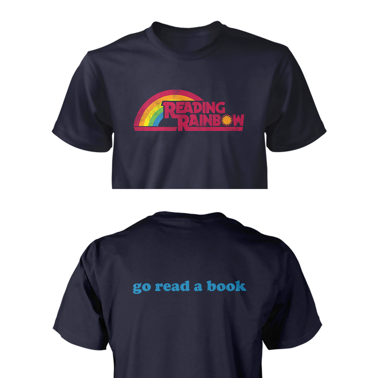 ff1b6d634b572 Official Limited Edition Reading Rainbow Tee