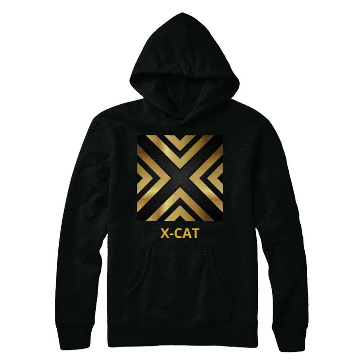 e08337461dad x-cat games youtube featured hoodie (black