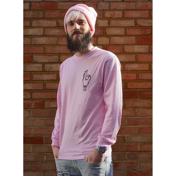 Pewdiepie Limited Edition Long Sleeve Shirt Represent De