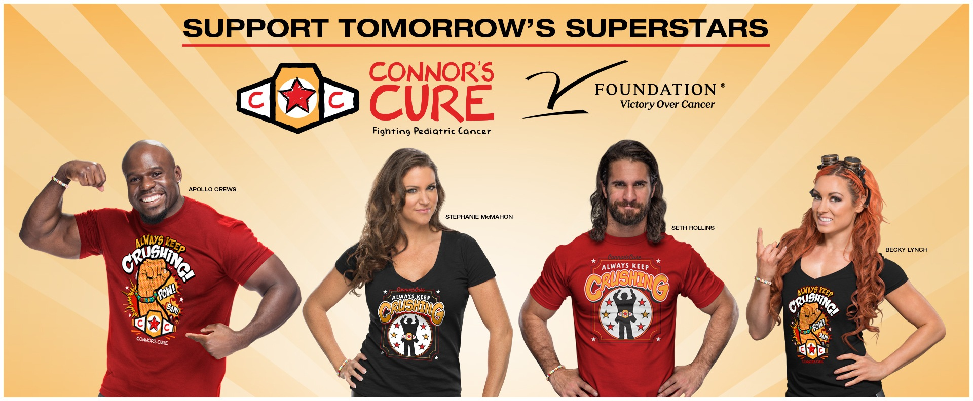 WWE Connor's Cure Apparel Store