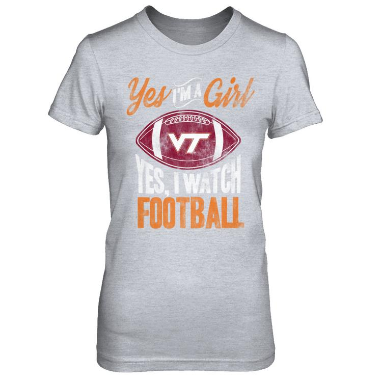 save off e7e30 0af5d Yes I Watch Virginia Tech Football