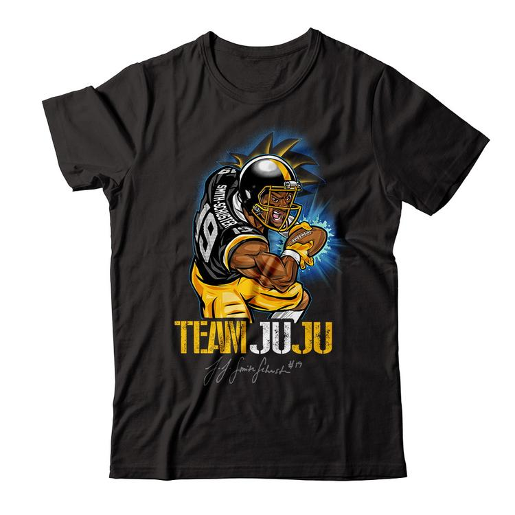 749698ffe Official  Team Juju  Smith Schuster Tee Black Next Level Unisex Fitted Tee